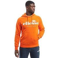 Ellesse Carono Hoodie - Orange - Mens