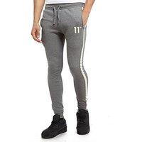 11 Degrees Reflective Fleece Pants - Grey/White - Mens