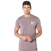 11 Degrees Core T-Shirt - Brown - Mens
