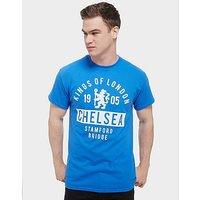 Official Team Chelsea FC Kings T-Shirt - Blue - Mens