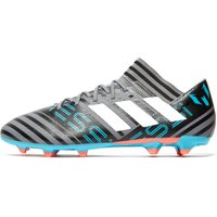adidas Cold Blooded Nemeziz Messi 17.3 FG - Grey/Black - Mens, Grey/Black