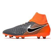 Nike Fast AF Magista Phantom Dynamic Fit FG - Dark Grey/Orange - Mens