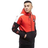 Nike Air Full Zip Hoodie - Red/Black - Mens