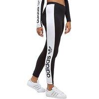 adidas Originals Linear Leggings - black/white - Womens