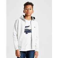 Lacoste Full Zip Hoodie Junior - Black/Red - Kids