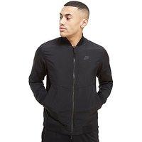 Nike Woven Varsity Jacket - Black - Mens