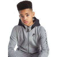 Nike Air Max Full Zip Hoodie Junior - Grey/Black - Kids