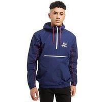 Nike Archive Woven Half Zip Jacket - Blue - Mens