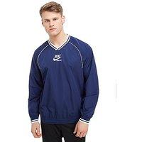 Nike Archive Crew Sweatshirt - Dark Blue/White - Mens