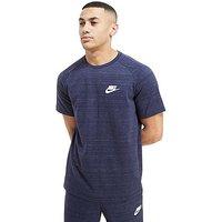Nike Advance Knit Tee - Navy - Mens