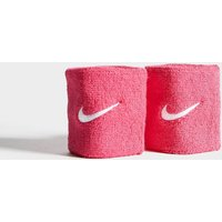 Nike 2 Pack Swoosh Wristband - Pink - Womens, Pink