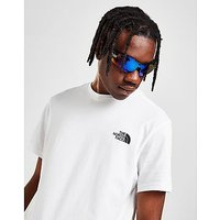 The North Face Simple Dome T-Shirt - White/Black - Mens