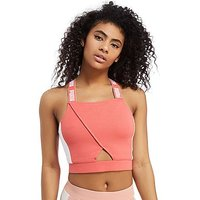 PUMA Archive Crop Top - Coral/White - Womens