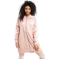 PUMA Archive Bomber Jacket - Peach/White - Womens