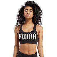 PUMA Forever Logo Bra - black/white - Womens