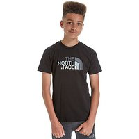 The North Face Easy T-Shirt Junior - Black/White - Kids