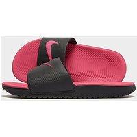 Nike Kawa Slides Children - black/pink - Kids
