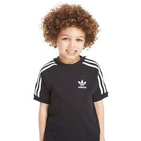 adidas Originals Girls California T-Shirt Children - Black/White - Kids