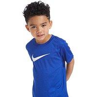 Nike Dri-FIT Short Sleeve T-Shirt Children - Blue/White - Kids