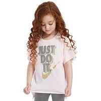 Nike Girls Just Do It T-Shirt Children - Arctic Pink/Metal - Kids