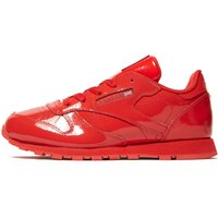 Reebok Classic Leather Patent Children - Red - Kids, Red