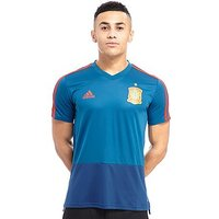 adidas Spain 2018 Training Shirt - Blue - Mens