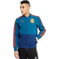 adidas Spain 2018 Presentation Jacket - Blue - Mens