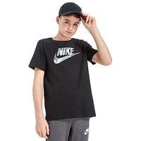 Nike Camo Infill T-Shirt Junior - Black/Grey - Kids
