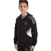 adidas Originals Europe Full Zip Hoodie Junior - black - Kids