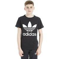 adidas Originals Trefoil T-Shirt Junior - Black/White - Kids