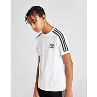 adidas Originals California T-Shirt Junior - White/Black - Kids