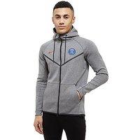 Nike Paris Saint Germain Tech Fleece Hoodie - Grey - Mens