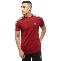 adidas Originals California T-Shirt - red/white - Mens