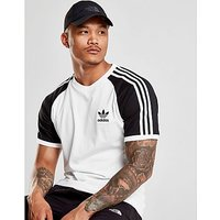 adidas Originals California Raglan Sleeve T-Shirt - White/Black - Mens