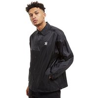 adidas Originals Trefoil Coach Jacket - Black/White - Mens
