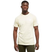 adidas Originals California Short Sleeve T-Shirt - Yellow/White - Mens