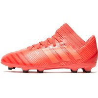 adidas Cold Blooded Nemeziz 17.3 FG Children - Coral/Red - Kids, Coral/Red