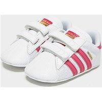 adidas Originals Superstar Crib Infant - White - Kids