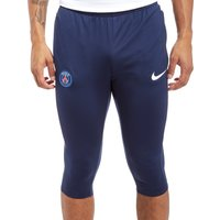 Nike Paris Saint-Germain 2017/18 Squad 3/4 Length Pants - Navy/Red - Mens, Navy/Red
