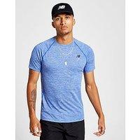 New Balance Tenacity T-Shirt - blue - Mens