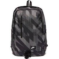 Nike Soleday Print Backpack - black/grey - Kids