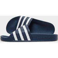 adidas Originals Adilette Slides Damen - adiblue / White / Adi Blue - Damen, adiblue / White / Adi Blue
