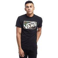 Vans Drop V Camo Box T-Shirt - Black - Mens