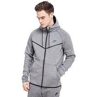 Nike Tech Fleece Windrunner Hoody - Carbon Heather - Mens