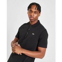 Lacoste Alligator Short Sleeve Polo Shirt - Black - Mens, Black