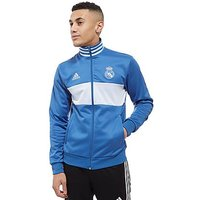 adidas Real Madrid 3-Stripe Track Top - blue/white - Mens