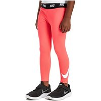 Nike Girls Swoosh Leggings Children - Pink - Kids