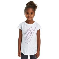 Nike Girls Futura T-Shirt Children - White - Kids