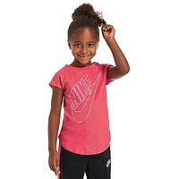 Nike Girls Futura T-Shirt Children - Pink/Gold/White - Kids