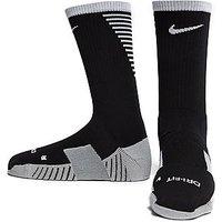 Nike MatchFit Crew Football Socks - Black/White - Mens